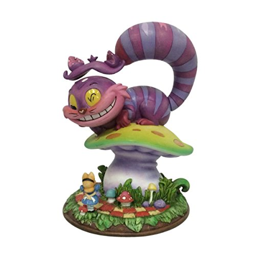 The World of Miss Mindy Cheshire Cat from Alice in Wonderland Stone Resin Figurine