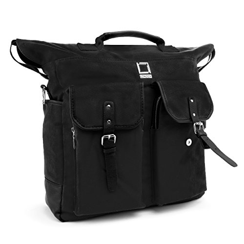 Price comparison product image Black Lencca Phlox Backpack Bag for Acer Aspire R7 Series 15.6-inch Laptops