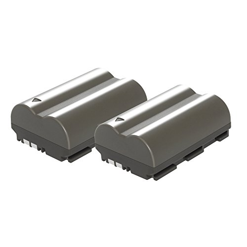 Turpow 2 Pack Replacement 2200mAh Canon BP-511 BP-511A Batte