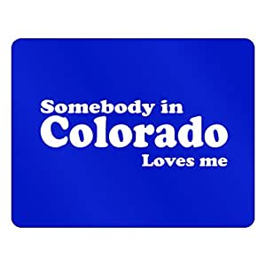 Teeburon Somebody in Colorado loves me Plastic Acrylic