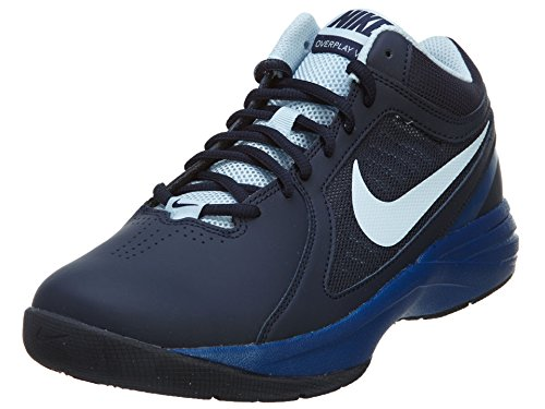 Nike Men's The Overplay VIII, OBSIDIAN/ANTACTICA-GYM BLUE, 8 M US