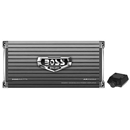 BOSS Audio Systems AR2000M Monoblock Car Amplifier - 2000 Watts