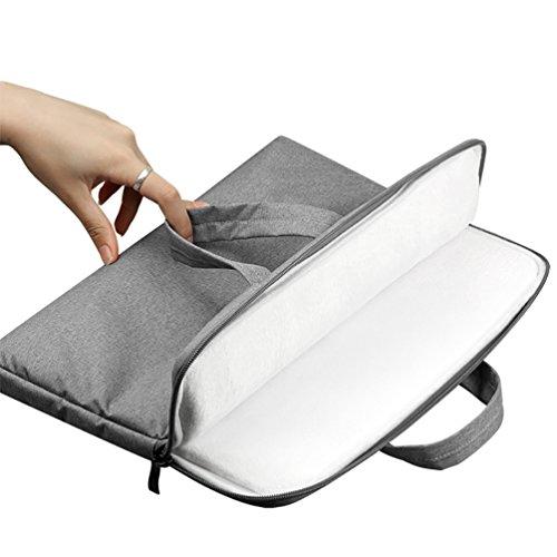 YiJee Funda Blanda para Ordenador Portátil Macbook Pro Retina 11.6 - 15.6 Pulgadas 11.6 Inch Gris