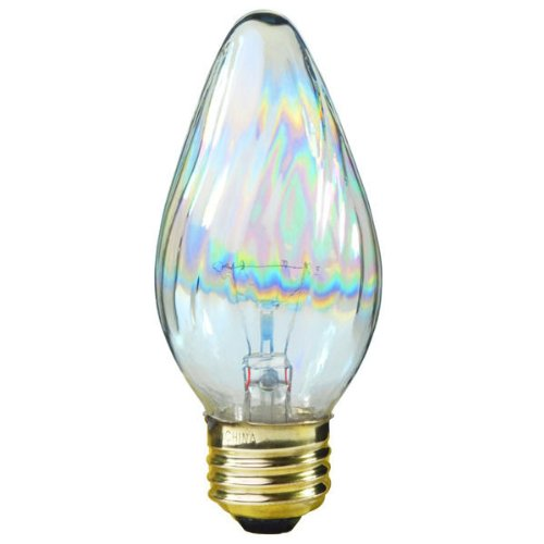 (Satco S3369 40-Watt 120V Medium Base F15 Light Bulb,)