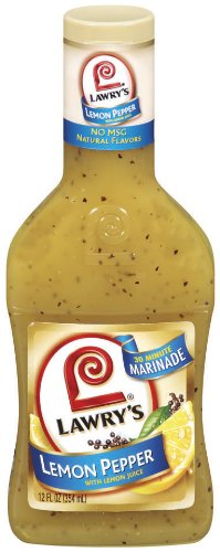 Lawry's Steak and Chop Marinade with Garlic and Cracked Black Pepper, 12 oz