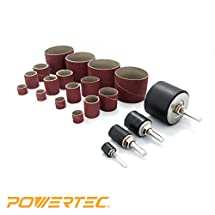 POWERTEC 11300 Sanding Drum Kit (20 Pack)