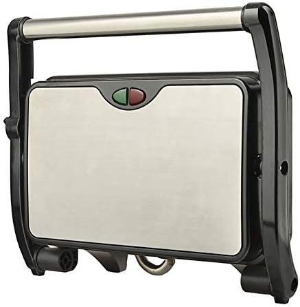 JINRU Panneau Enduit antiadhésif de Machine de Sandwich/Machine de Steak, 180 degrés pour Tout Type ou Taille d'aliment, Surface d'acier Inoxydable