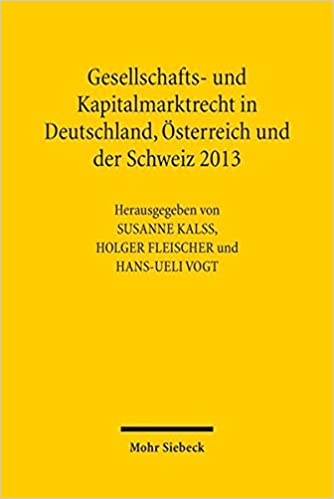 Amazoncom Gesellschafts Und Kapitalmarktrecht In Deutschland