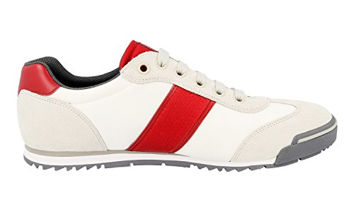 free shipping how much free shipping official site Prada Men's 4E3110 OYA F0H5A Leather Trainers/Sneaker free shipping nicekicks best prices sale online RMkV1Pz