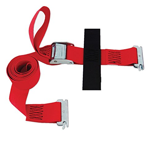 SNAPLOCS E-STRAP 2''x8' CAM (USA!) with Hook & Loop storage fastener by Snap-Loc