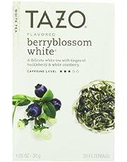 Tazo Tea White Berry Blossom Tea 20 Bag - (Pack of 6)