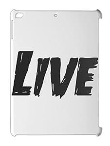 Live iPad air plastic case