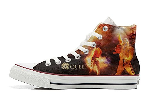 Handwerk Customized music Schuhe Star personalisierte Hi All Converse Schuhe c1q7wPFyW