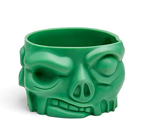 Set of 4 Silicone Zombie Baking Cups ThinkGeek 847509011652