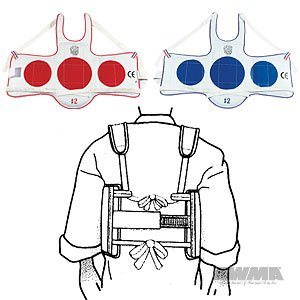 ProForce TaeKwonDo Reversible Chestguard - Medium - Gi Size 3 Proforce Target