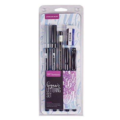 hand lettering brushes
