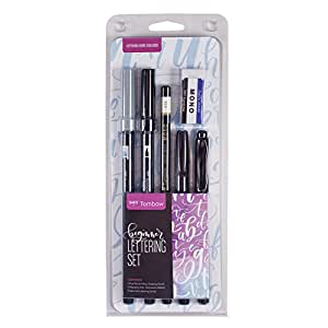 American Tombow 56190 Lettering Set Marker