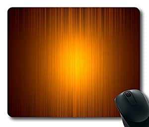 "Orange Light Standard Mouse Pad Oblong Design Mousepad in 220mm*180mm*3mm (9""*7"") -102105"