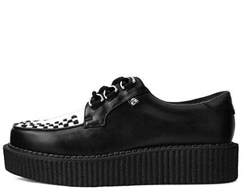 Et Shoes Creeper Blanches Noir Anarchiques Noires T k u De Hommes Femmes EFv0qa