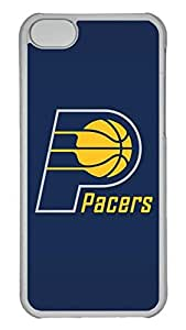 Creative GOOD 5C Case, iPhone 5C Case, Personalized Hard PC Clear Shoockproof Protective Case Cover for New Apple iPhone 5C - Nba Indiana Pacers