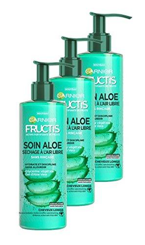 Garnier Fructis Lotion Tonique Soin Aloe Hydra Bomb Séchage à l'Air Libre Cheveux Longs 1.2 L - Lot de 3 Garnier Fructics C5976100