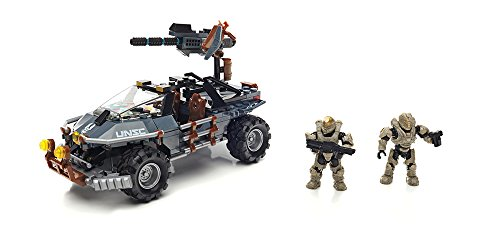 Halo 2 Warthog - Mega Bloks Halo Dual Mode UNSC Warthog