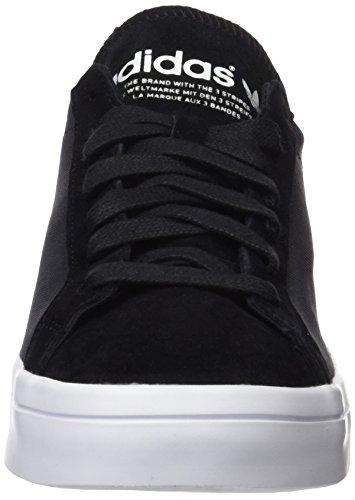 adidas Courtvantage W - Basket Mujer Negro (Core Black /      Core Black /      Ftwr White)