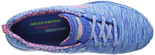Skechers Damen ValerisFull Force Sneaker Blau (BLCL)