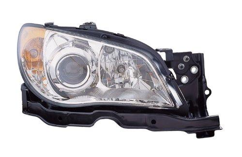 OE Replacement Subaru Impreza Passenger Side Headlight Assembly Composite (Partslink Number SU2503137)