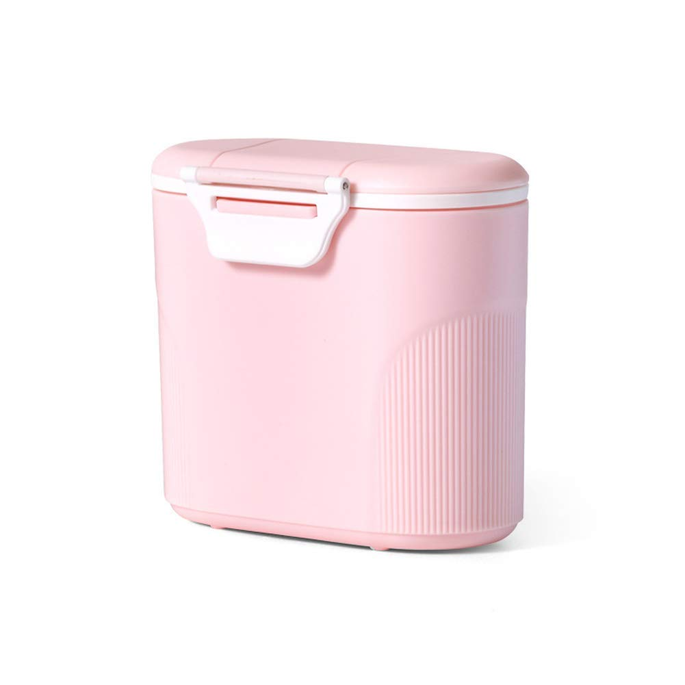 Caja de polvo de leche grande, dispensador de polvo de fórmula portátil, caja de almacenamiento de leche en polvo multifunción para bebé, caja sellada de ...