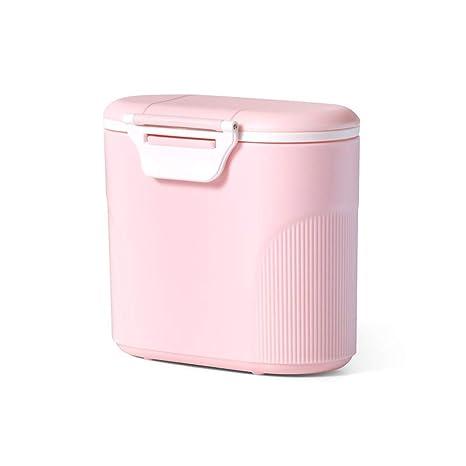 Caja de polvo de leche grande, dispensador de polvo de fórmula portátil, caja de almacenamiento de ...