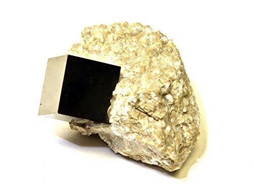 StarStuff.Rocks Crystal and Mineral Specimens: Natural Cubic Pyrite in Matrix from Spain by StarStuff.Rocks