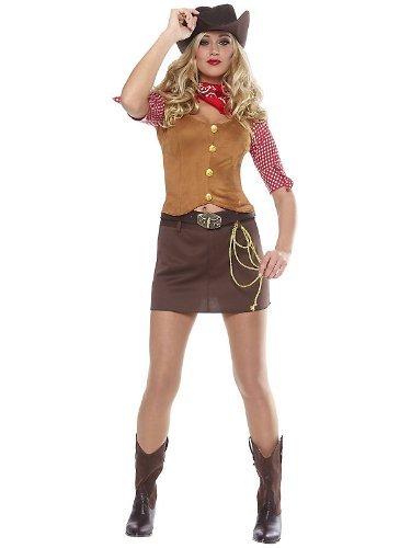 [Womens Gun Slinger Cowgirl Costume] (Woman Gunslinger Costume)