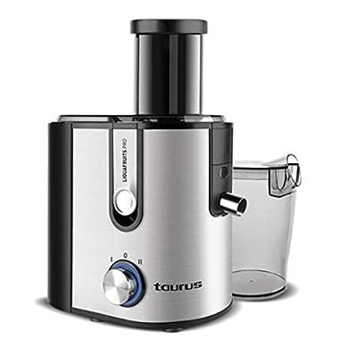 Taurus Licquafruits Pro 800-Watt Juice Extractor (Silver/Black) 8