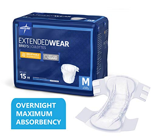 Medline Extended Overnight Maximum Absorbency