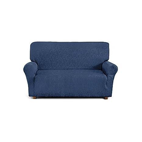 Funda de sofá de 2 plazas (de 110 cm a 150 cm) - Color Blue