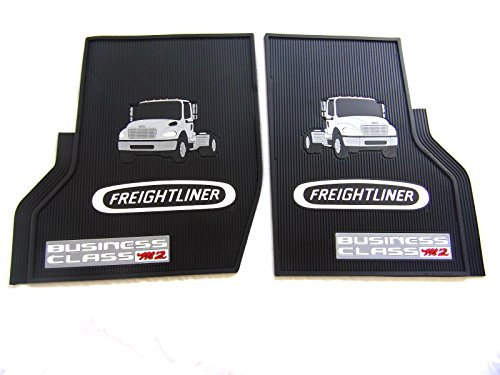 Freightliner-Business-Class-M2-Black-All-Weather-Rubber-Floor-Mats-OEM-with-Logo-Fits-All-Years-M2