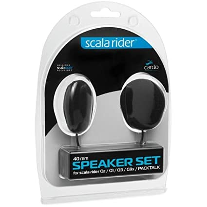 Cardo Systems Scala Rider 40mm Speaker Set (PACKTALK, SMARTPACK, FREECOM, SMARTH) SPAU0006