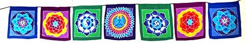 oma-chakra-prayer-flag-7-chakra-wall-hanging-decor-chakra-banner-yoga-meditation-decor-batik-painted