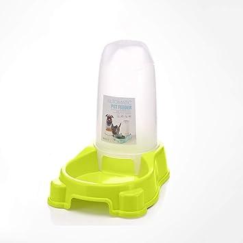 CQ Alimentador automático para Perros Alimentador para Gatos Comederos Alimento para Perros Alimentador para Gatos Alimentador