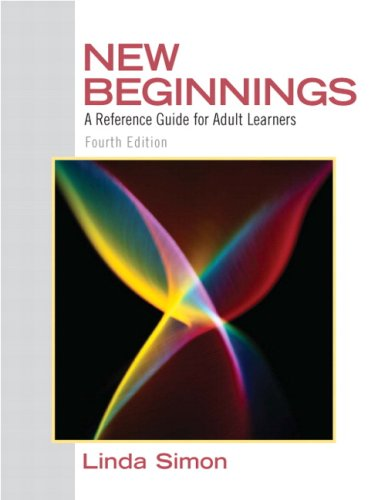 NEW BEGINNINGS:REF.GDE.F/ADULT LEARN...