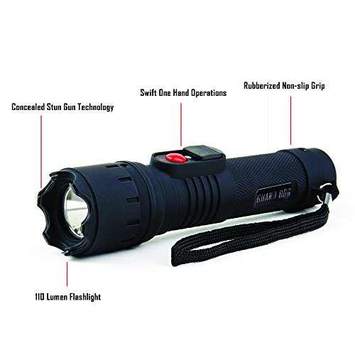 Guard Dog Security Maximum Voltage Stealth Flashlight
