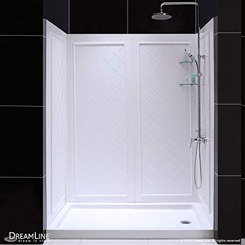 Shower Base Drain Right - DreamLine SlimLine 30