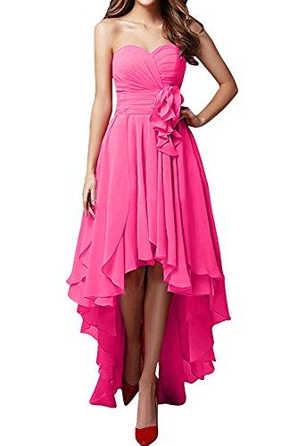 trapecio para mes Topkleider Vestido 2 mujer rosa HOw7qRx