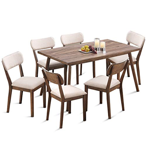 7 pc dining table set - 6