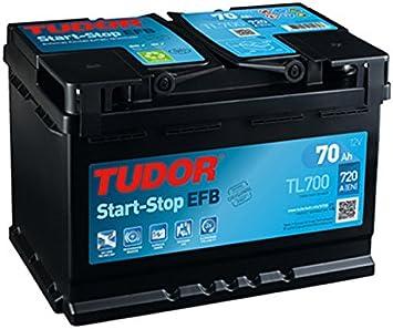 Batería de coche Start-Stop Tudor ECM TL700