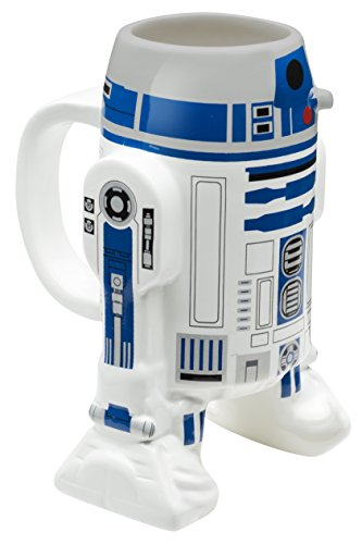 Zak Designs SWRD-8518 Star Wars Coffee Mug, 16oz Ep4 R2D Deal (Large Image)