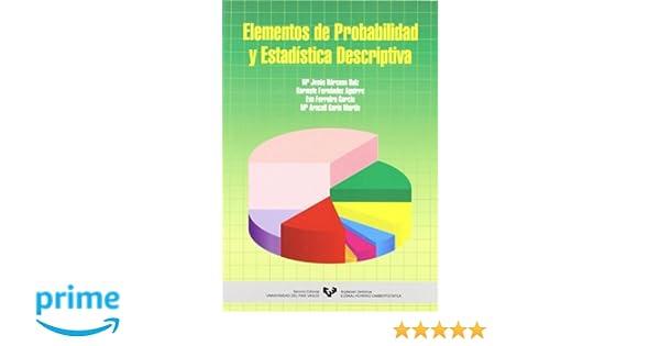 Elementos de probabilidad y estadística descriptiva: Amazon ...