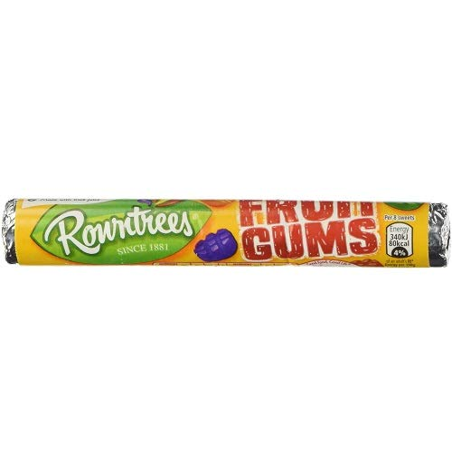 Rowntree Fruit Gums Roll (Pack of 12)