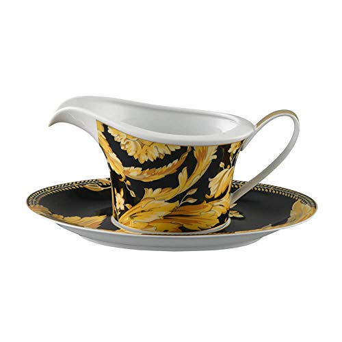 Versace meets Rosenthal Vanity Sauce boat with saucer